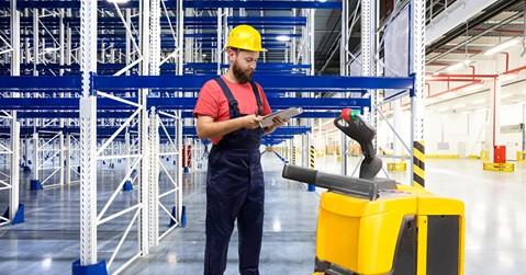 Work Experience: Operatore di magazzino e della funzione logistica
