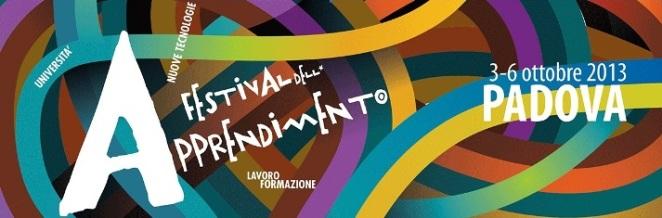 Festival dell'Apprendimento a Padova dal 3 al 6 Ottobre